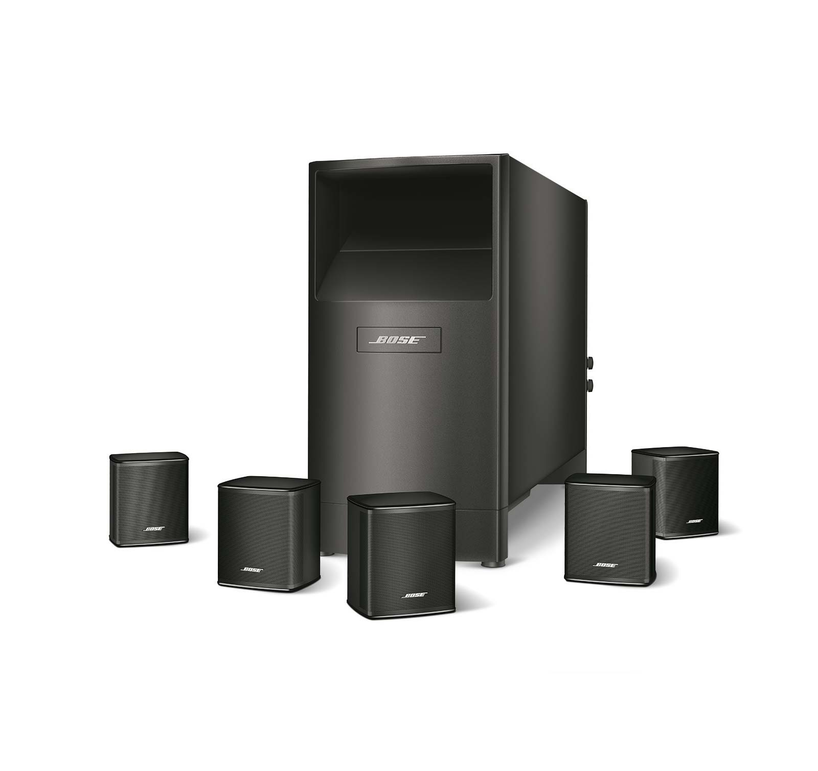 bose acoustimass 6 series v black home theater speaker system ebay. Black Bedroom Furniture Sets. Home Design Ideas
