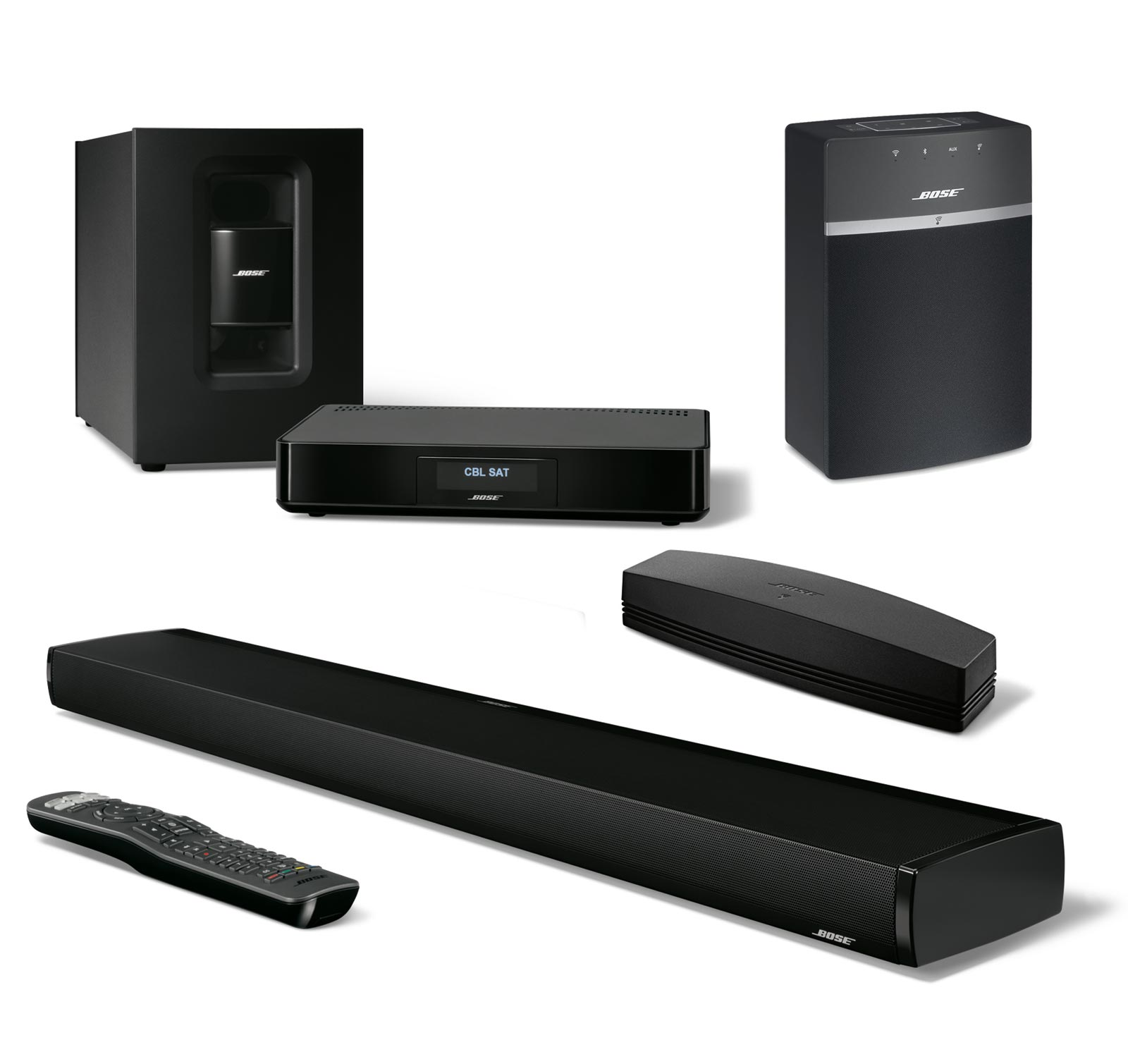 bose soundtouch 130 soundtouch 10 bundle 2 room wi fi. Black Bedroom Furniture Sets. Home Design Ideas