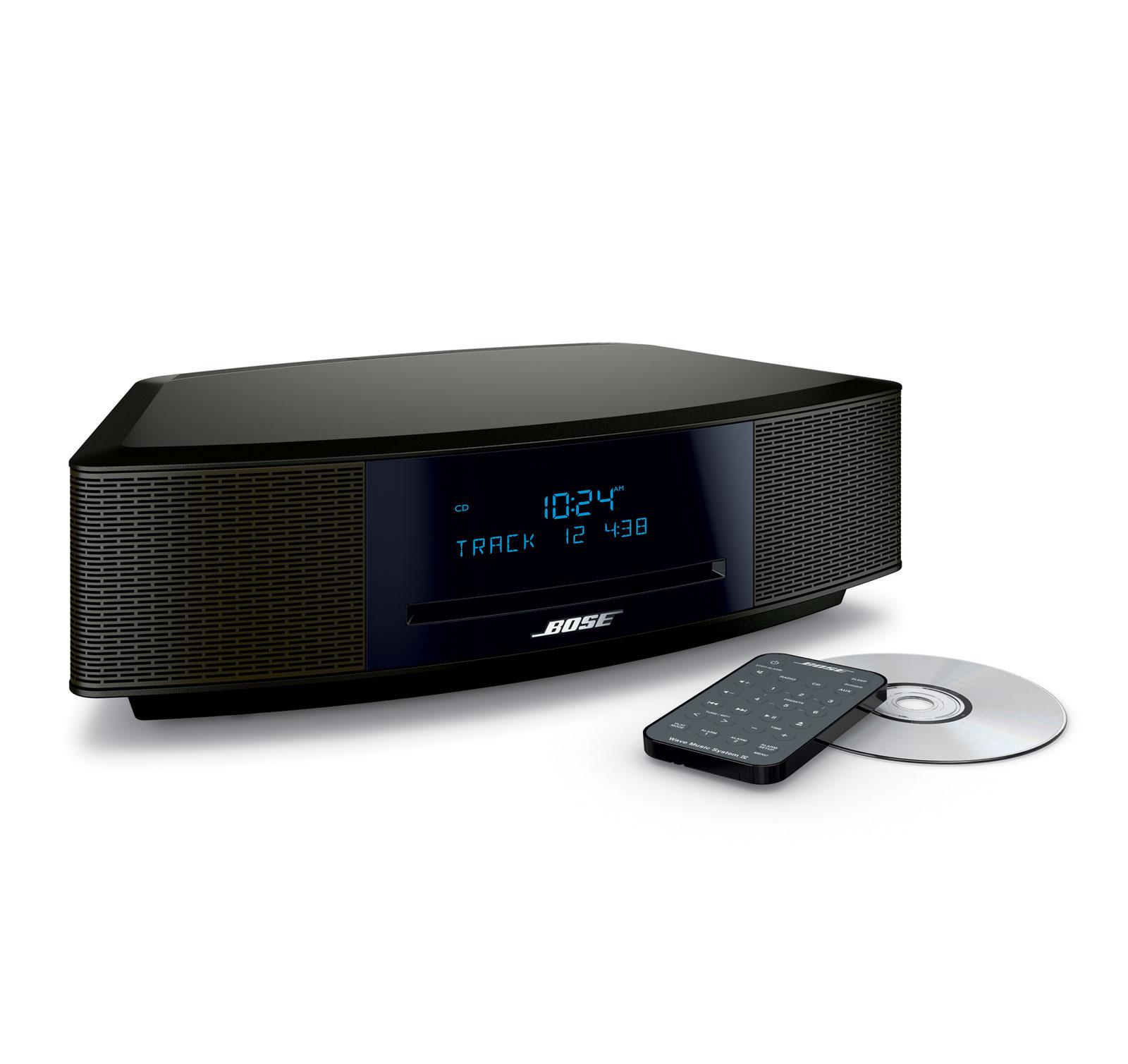 bose wave music system iv espresso black ebay. Black Bedroom Furniture Sets. Home Design Ideas