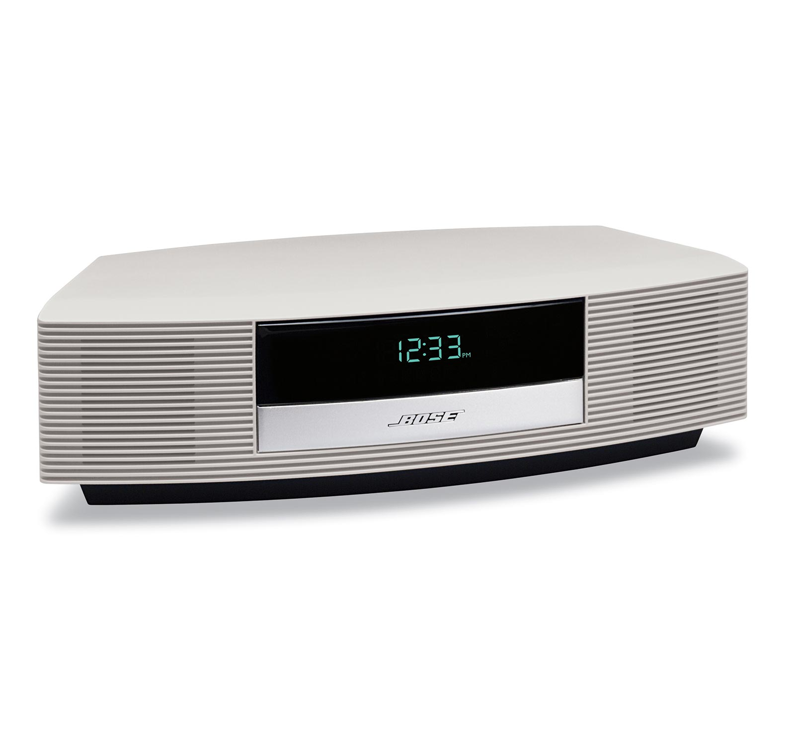 bose wave radio iii platinum white ebay. Black Bedroom Furniture Sets. Home Design Ideas