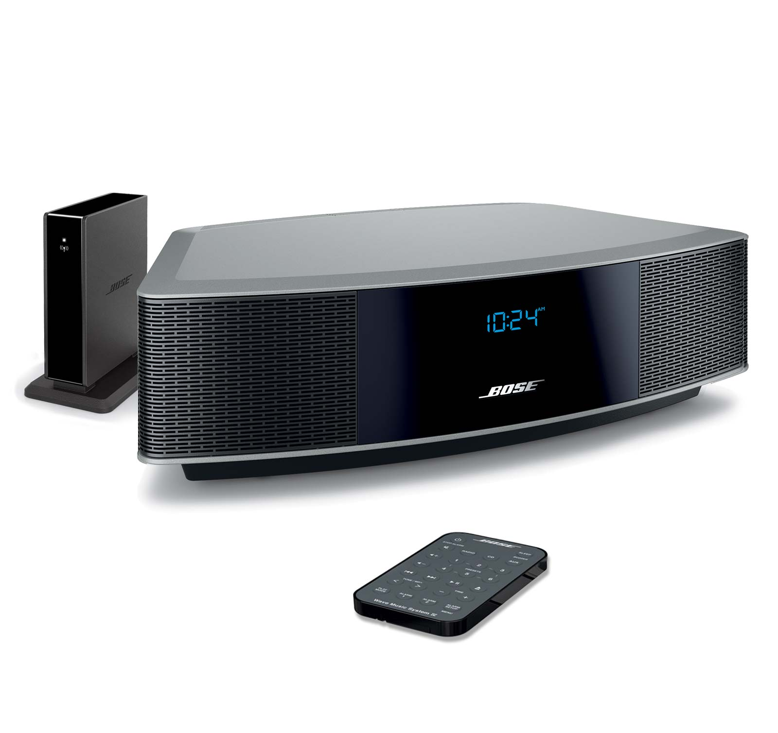 bose wave radio iv silver bundle radio bluetooth adapter. Black Bedroom Furniture Sets. Home Design Ideas