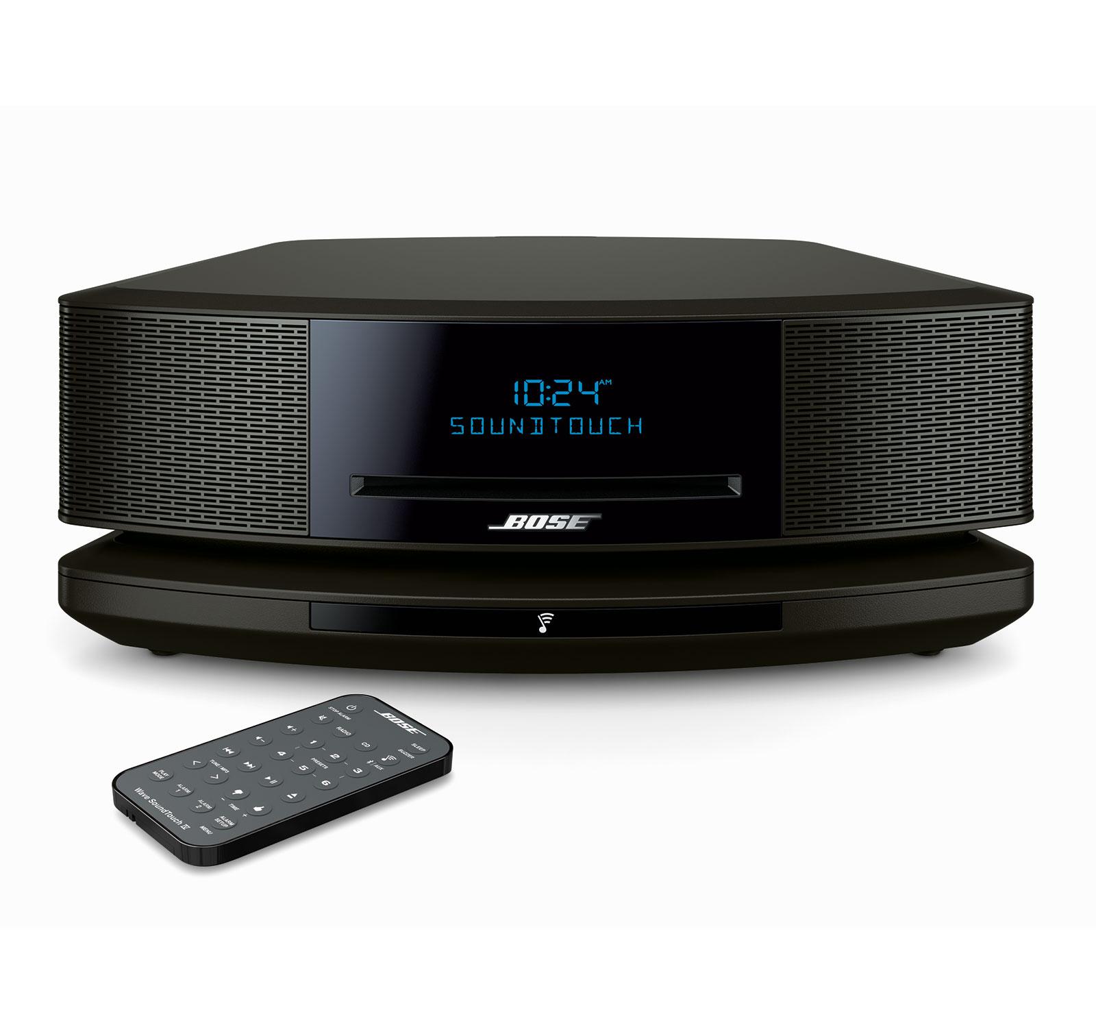 bose wave soundtouch music system iv black ebay. Black Bedroom Furniture Sets. Home Design Ideas