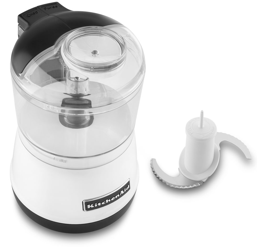 KitchenAid KFC3511WH White 3.5 Cup Food Chopper at Sears.com