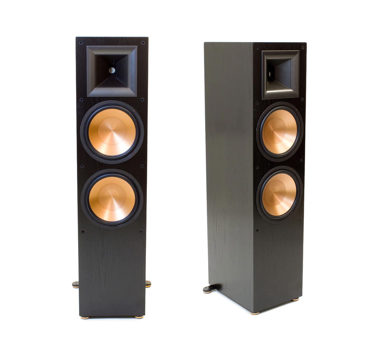 klipsch rf 7 ii black pair tower speakers ebay. Black Bedroom Furniture Sets. Home Design Ideas