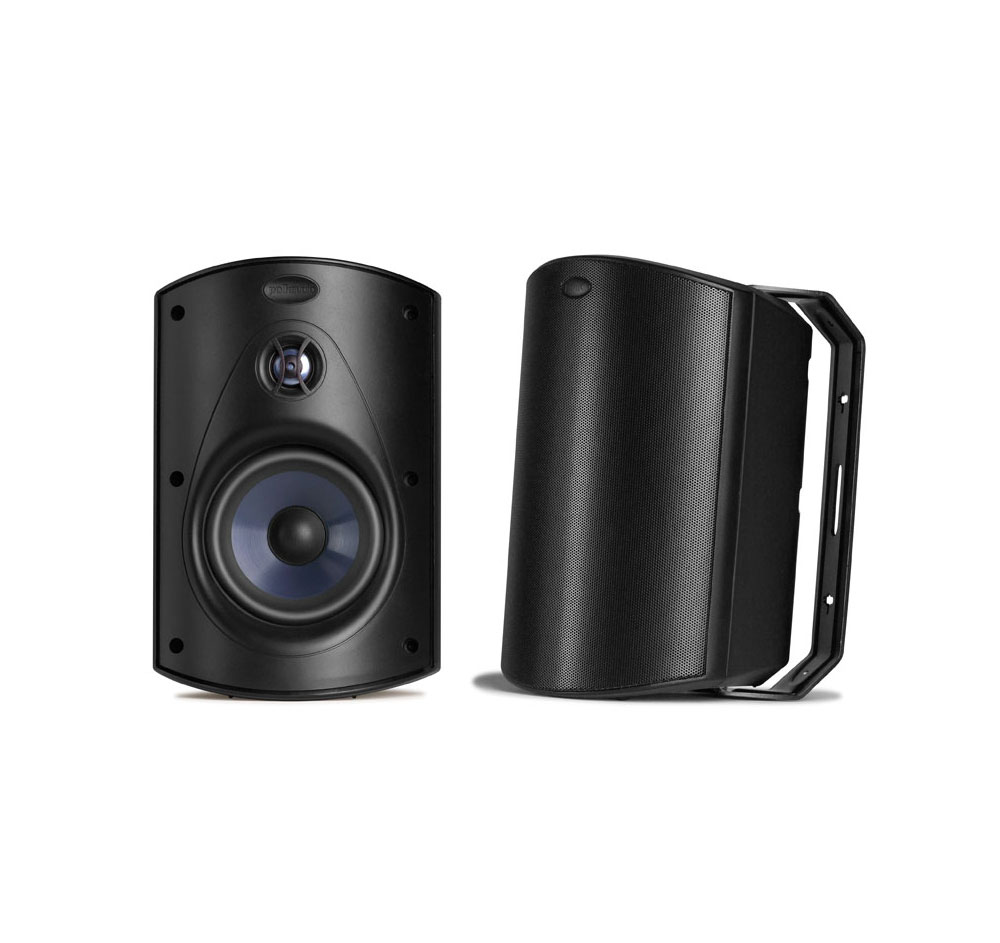 Polk Audio Atrium 6 Black Pair Open Box All Weather