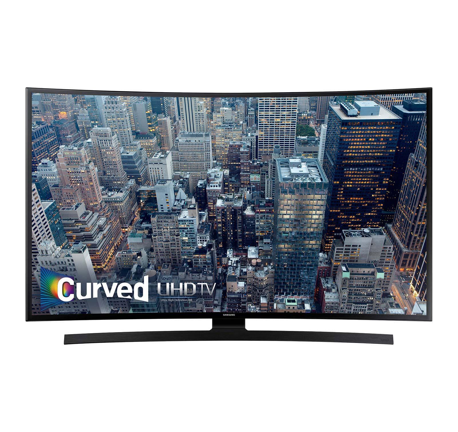 samsung un40ju6700 40 inch smart 4k uhd led tv ebay. Black Bedroom Furniture Sets. Home Design Ideas