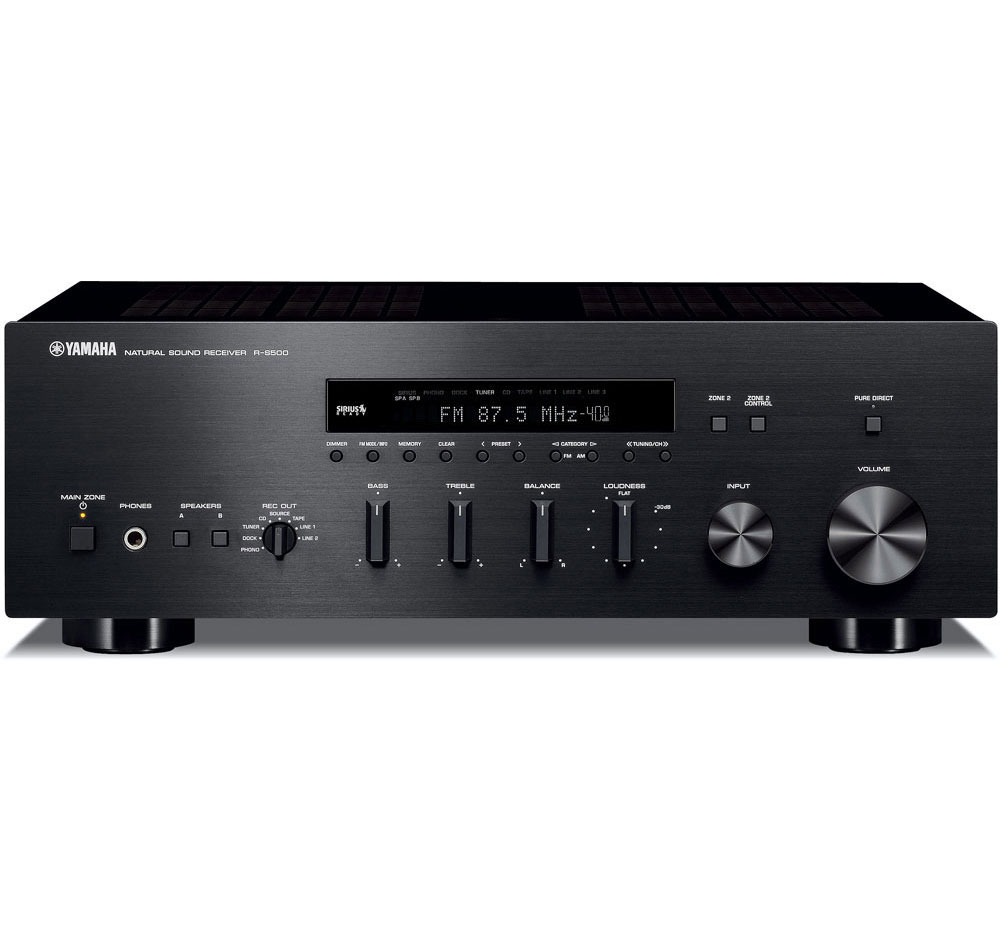 Yamaha r s500bl used stereo receiver ebay for Yamaha receiver accessories