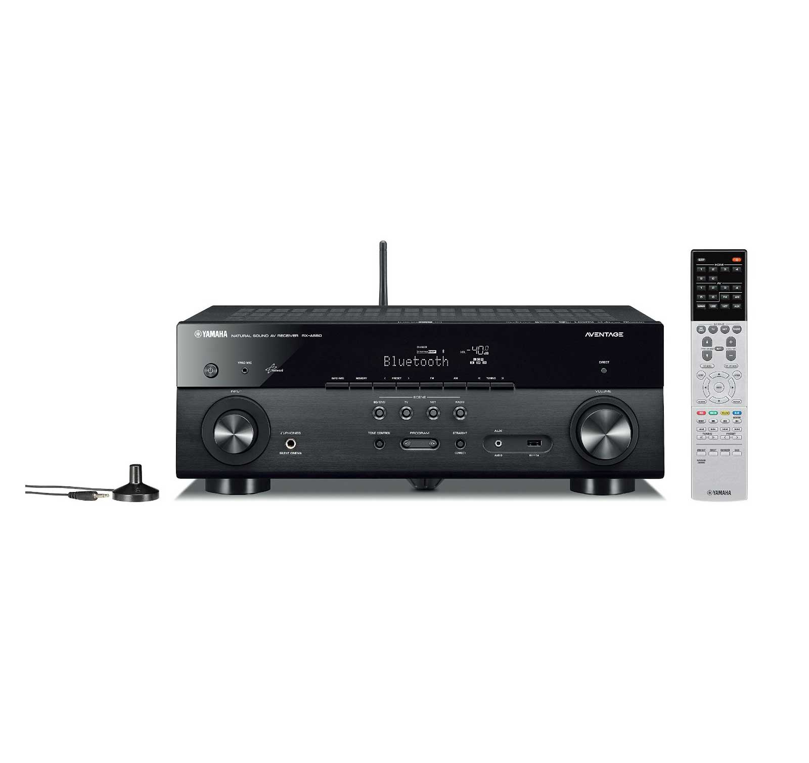 Yamaha rx a550bl 5 1 channel av receiver with bluetooth ebay for Yamaha home theatre customer care number